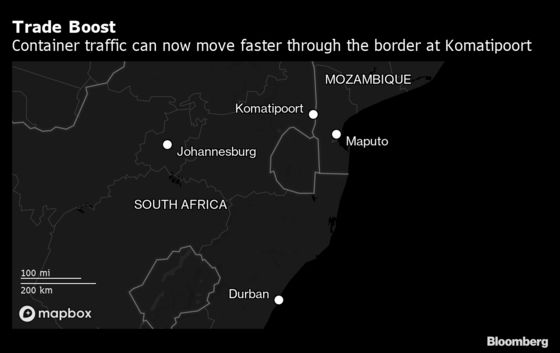 South African Industrial Hub Has Found a Faster Route to the Sea