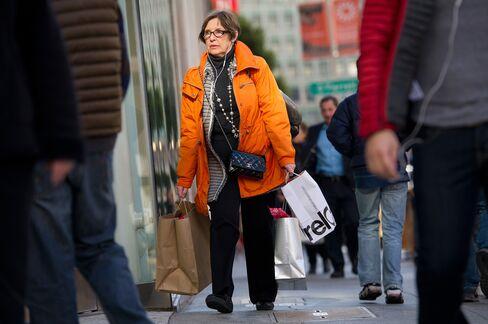 Consumer Confidence in U.S. Rises
