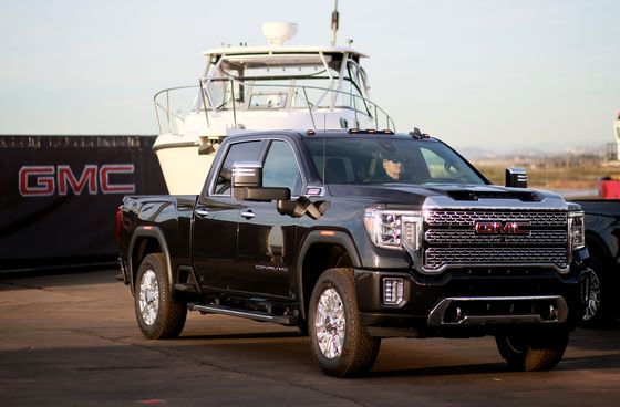 GM Sees Topping Outlook as Truck Plants Ramp Up; Shares Jump