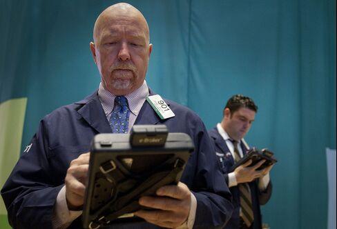 U.S. Stocks Erase Gains