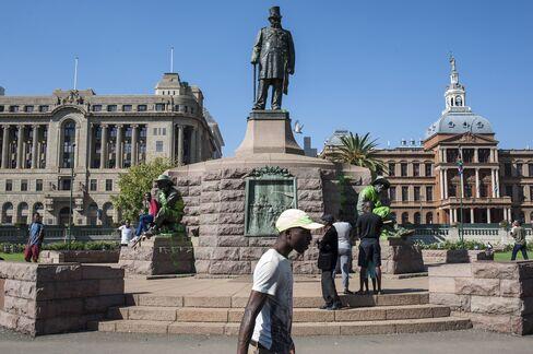 Paul Kruger Statue in Pretoria