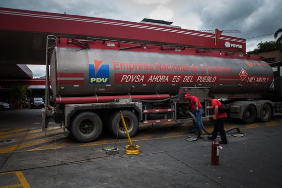 Oil Workers Protest Pay in Venezuela