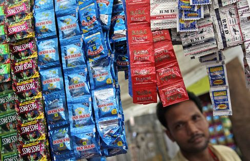 Chewing Tobacco for Kids Spreads Oral Cancer in India