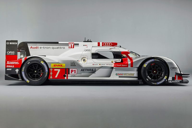 Experimental Porsche Audi And Toyota Hybrids Battle For The