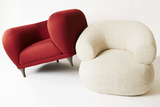 Maximize Your Comfort With a Puffy Armchair That's Large and in Charge