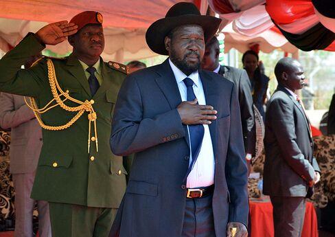 President of South Sudan Salva Kiir.