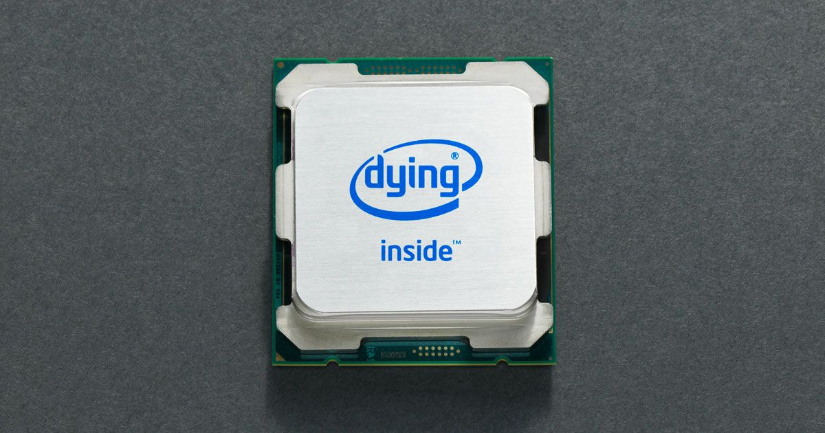 Intel Has a Big Problem. It Needs to Act Like It