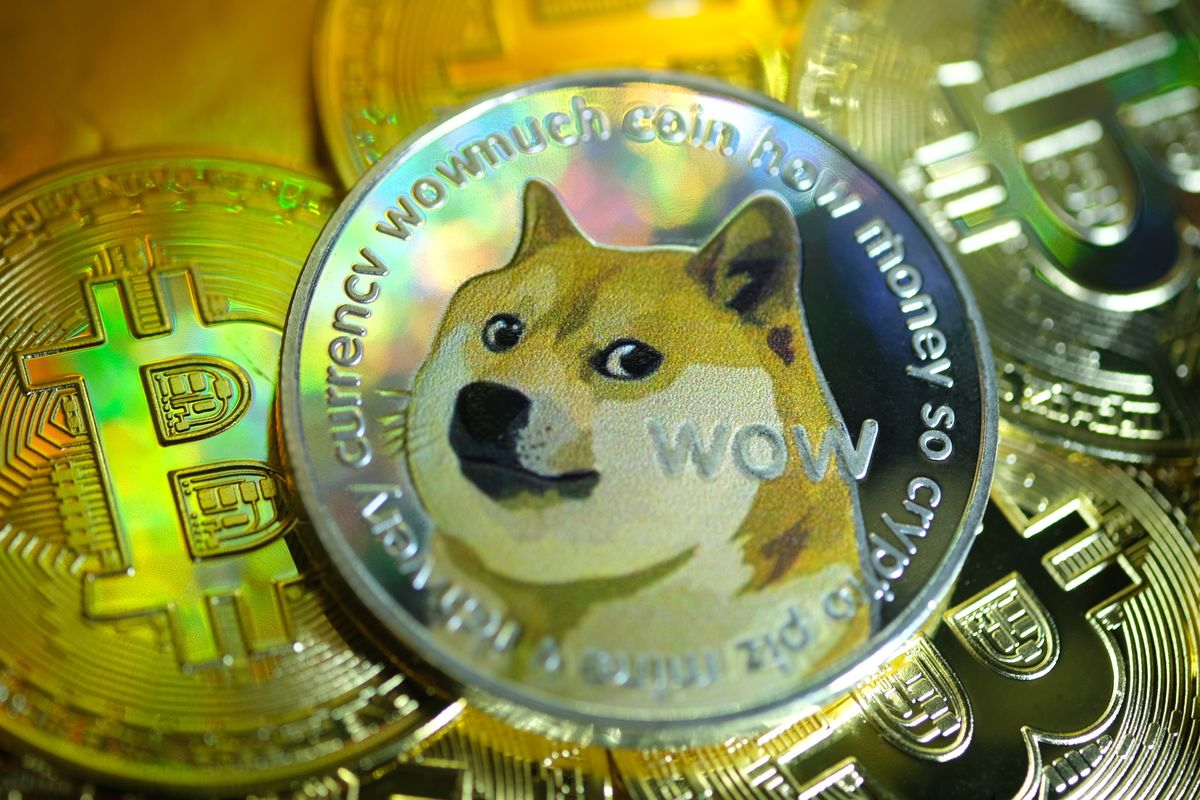 Dogecoin ($DOGE) Cryptocurrency Price Rises; Bitcoin (BTC USD) Stalls # ...
