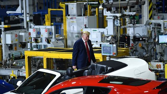 Trump Tours Ford Plant Without Mask But Wears One Out of View