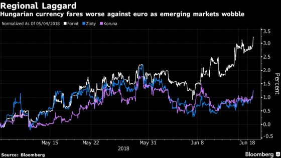 Emerging-Market Chaos Poses Dilemma for Hungary's Central Bank