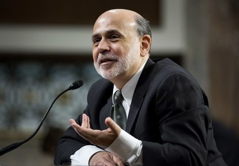 Bernanke Sees Further Scope for Easing to Spur U.S. Economy