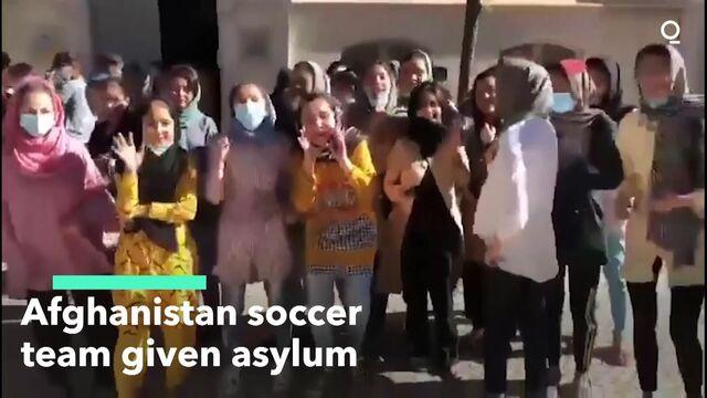 Afghanistan Soccer Team Given Asylum