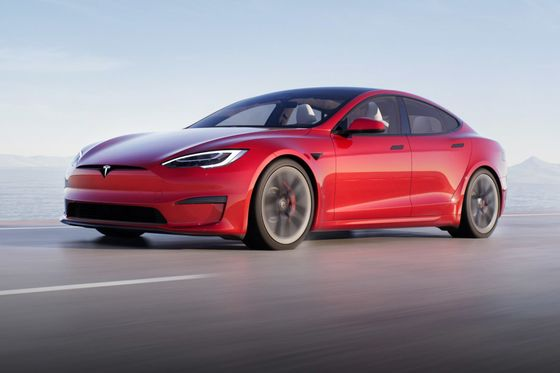 Musk Says Tesla Model S Plaid Delivery Delayed a Week
