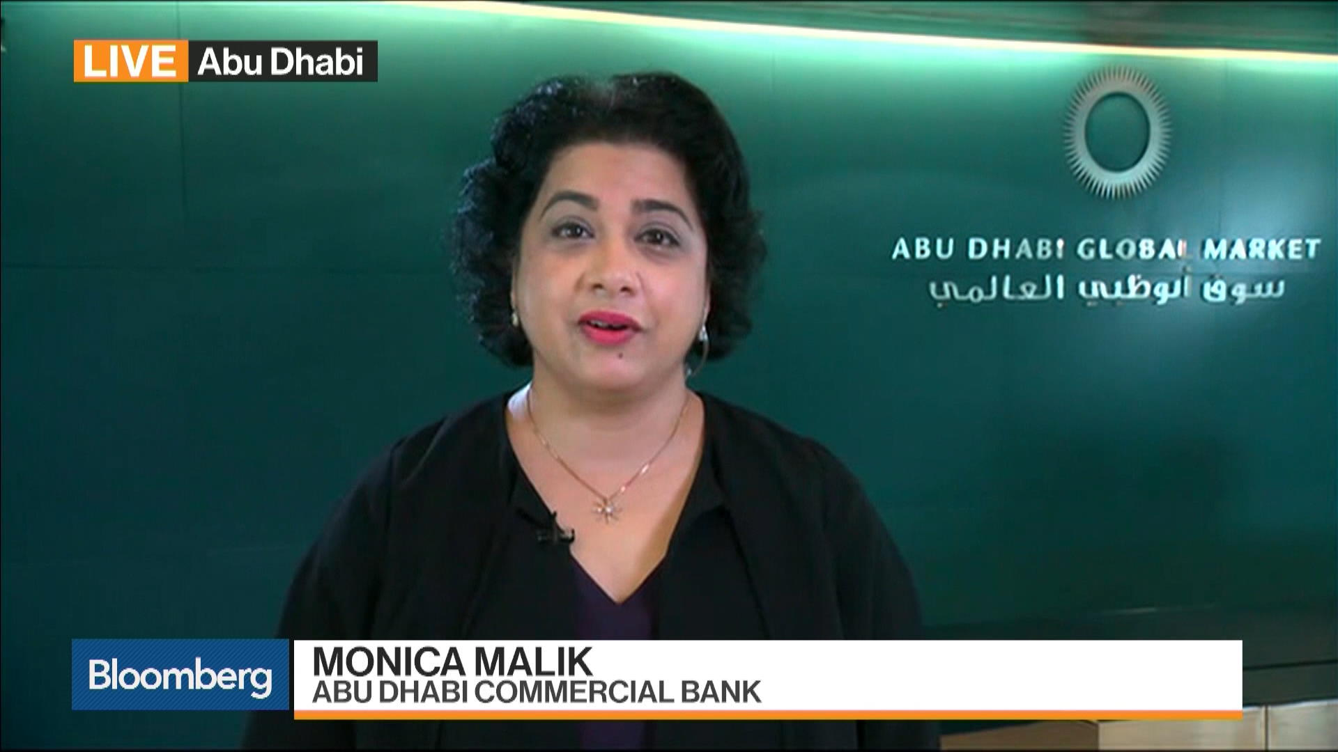 Image result for Monica Malik, chief economist at Abu Dhabi Commercial Bank,
