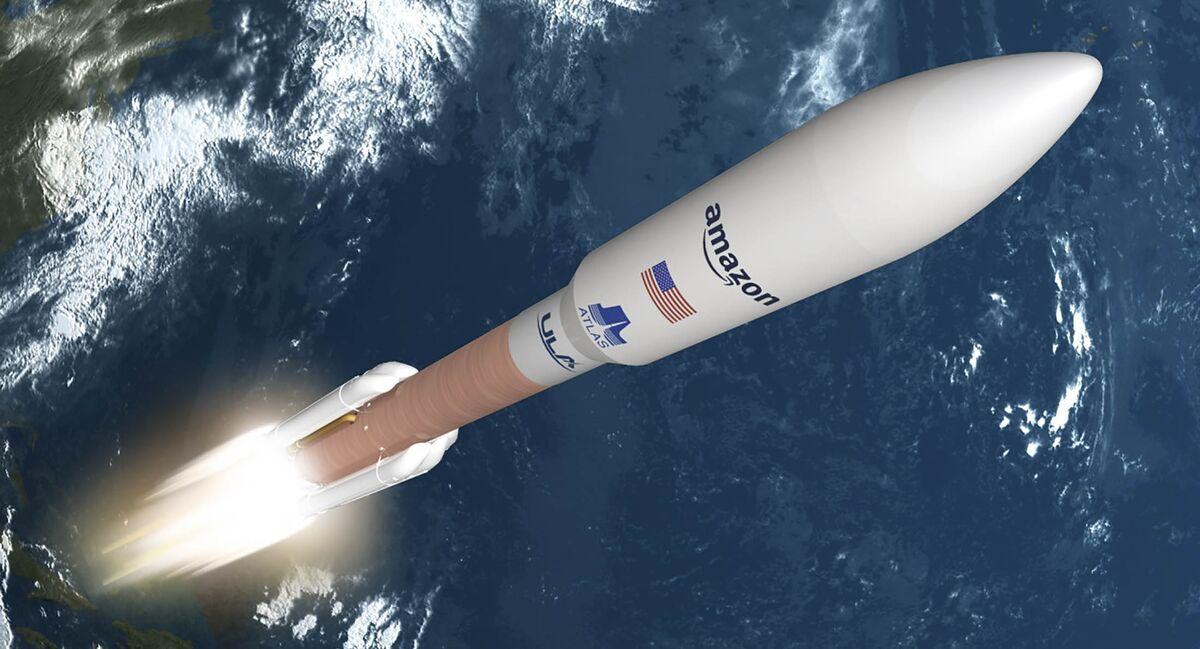 Amazon to Loft 3,236 Satellites Using Boeing-Lockheed Boosters