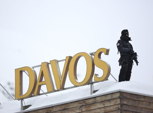 Swiss Army Drills for Euro Disaster as Merkel Heads to Davos