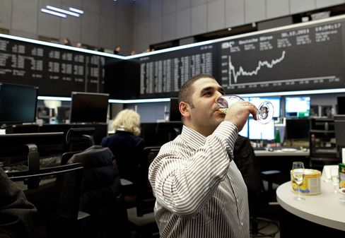German Stocks Advance; DAX Index Ends 2011 With Drop of 15%