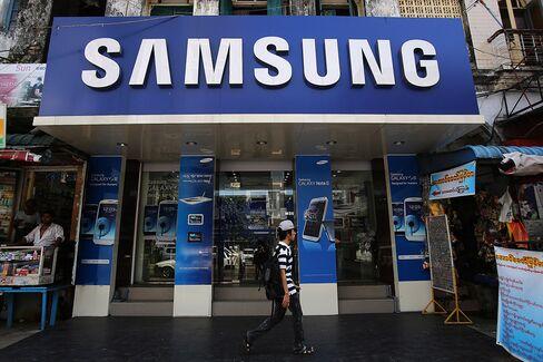 Samsung Profit Surpasses Estimates as Galaxy Fends Off IPhone 5