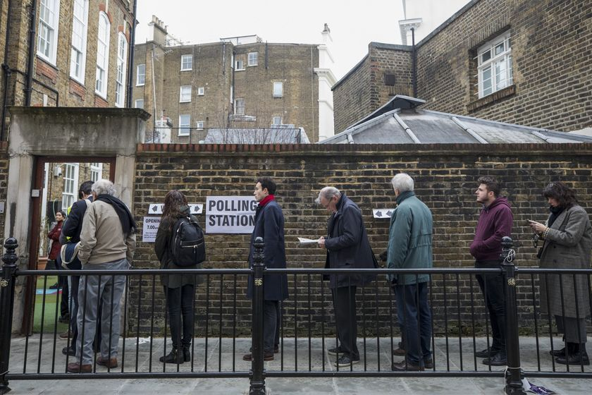 U.K. Head To The Polls In The General Election