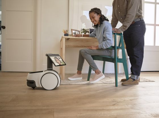 Amazon Launches $1,000, Voice-Controlled Robot Called Astro