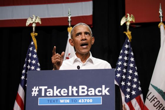 Obama Hits California Campaign Trail in Fight for House