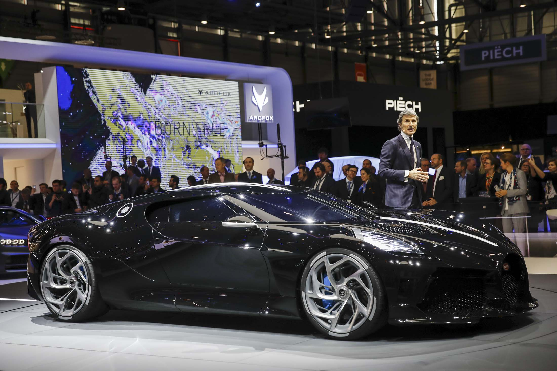 Bugatti S Sky Is The Limit Strategy Of 13 Million One Off Supercars Bloomberg