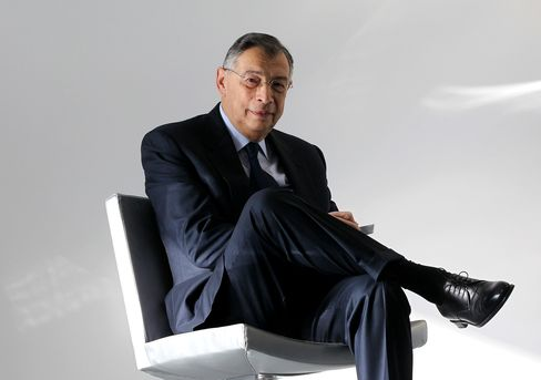 George Iacobescu, chief executive officer of Canary Wharf Group Plc.