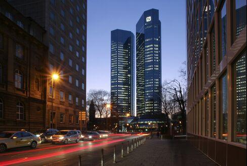 Deutsche Bank Headquarters.