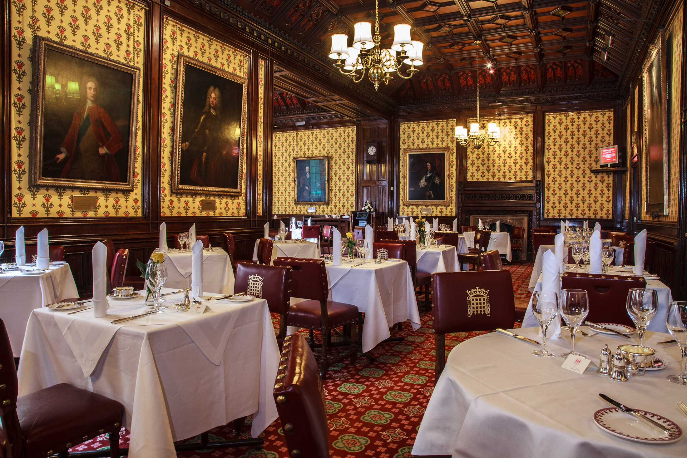 Heres What Its Like To Eat In The House Of Lords Exclusive Parliament Dining Room