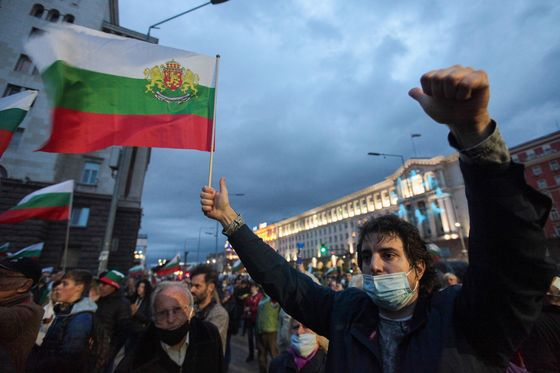 Corruption and ProtestsCan't Shake Tough Man's Grip onBulgaria