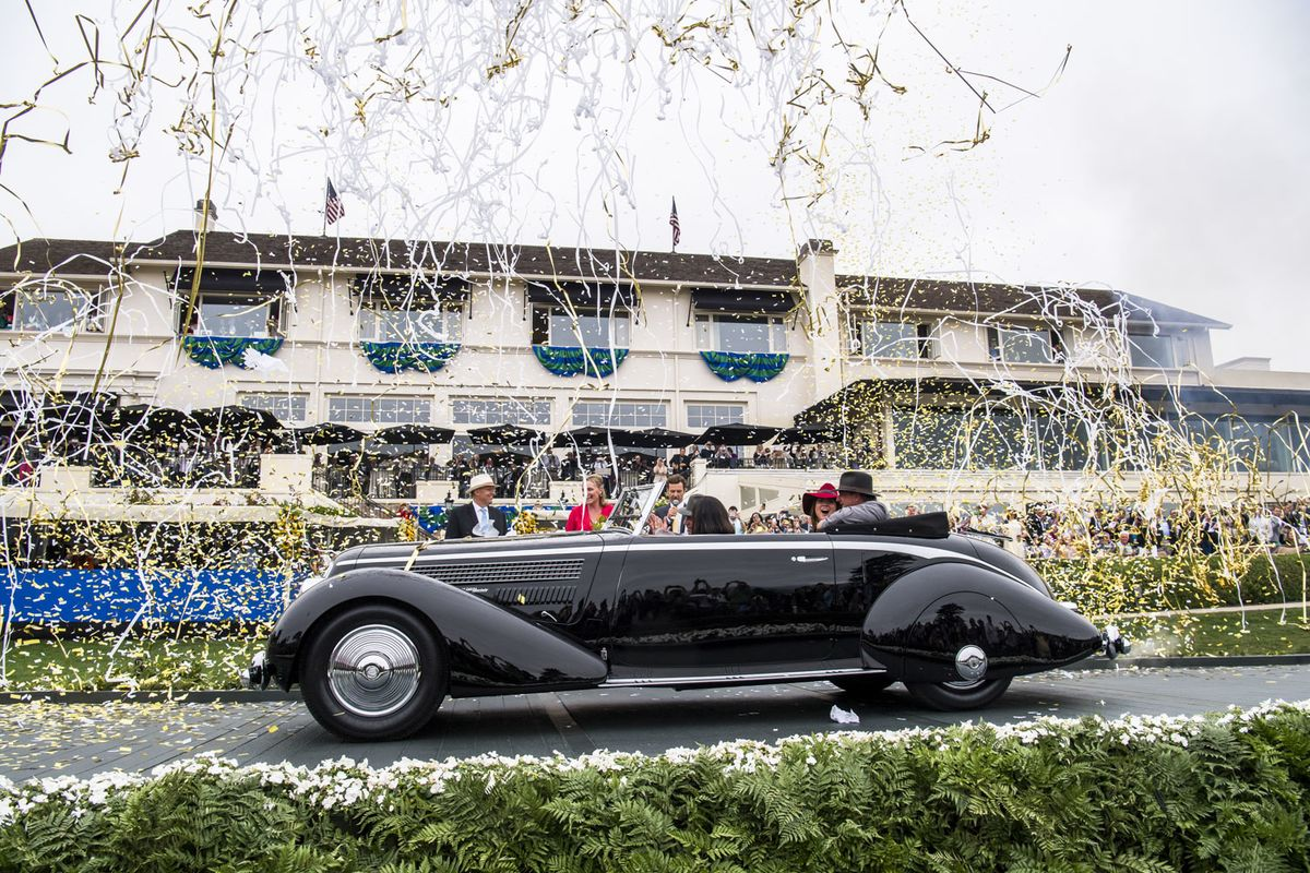 Concours D Elegance >> Most Beautiful Cars At The 2016 Pebble Beach Concours D