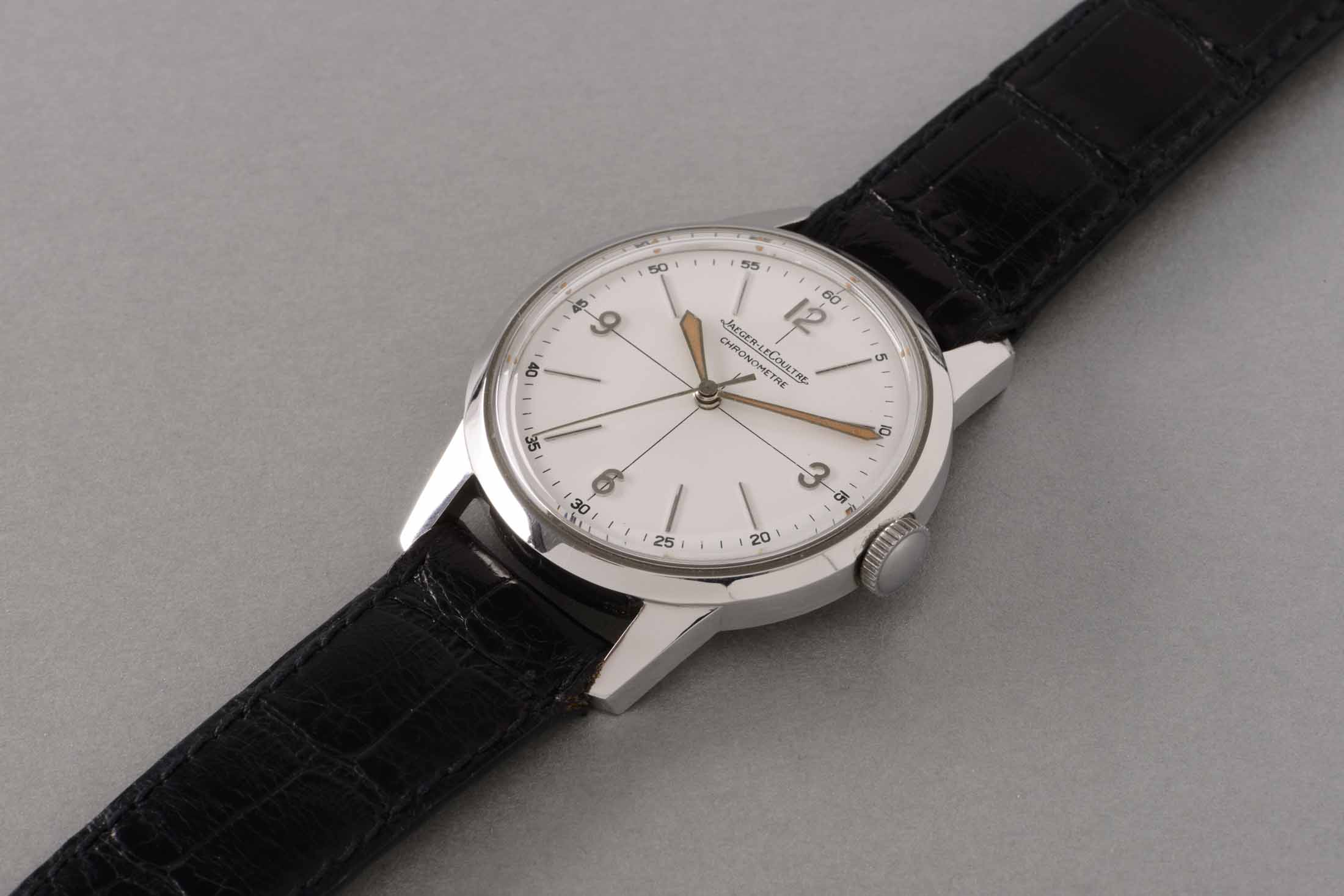 Jaeger-LeCoultre Stainless-Steel Chronograph Wristwatch