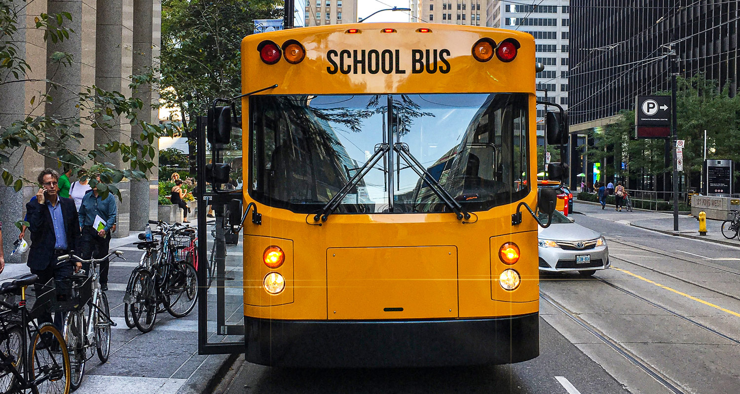 relates to A Canadian Electric Bus Is Making Stock Market Magic