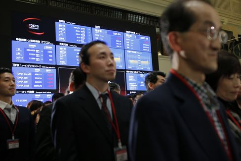 Nikkei Gains 23 Percent in 2012, First Annual Gain in 3 Years
