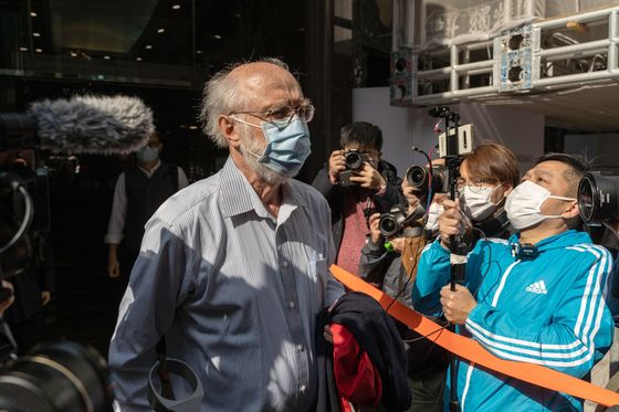Hong Kong Arrests U.S. Citizen, Dozens More Under Security Law