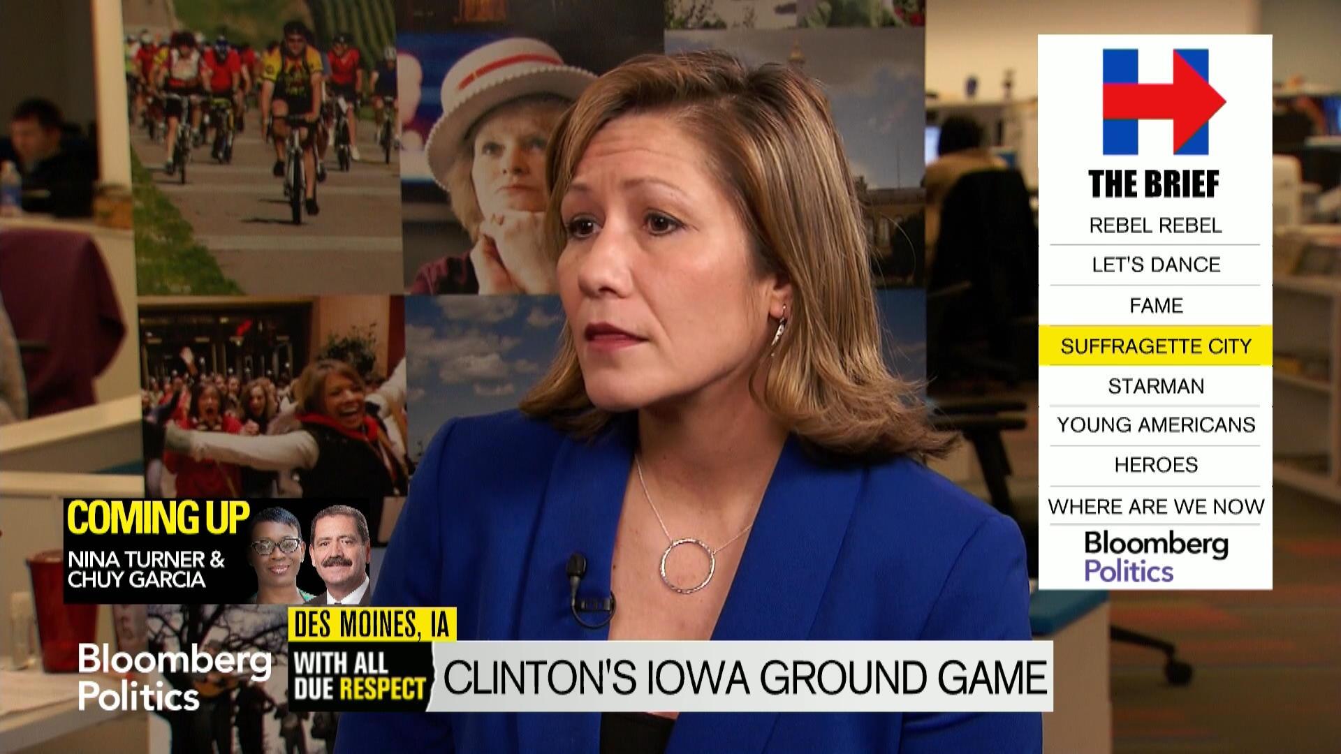 Clinton Political Director Amanda Renteria Says Hillary Is Iowa ...