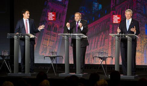 The Globe And Mail Leaders' Debate 2015