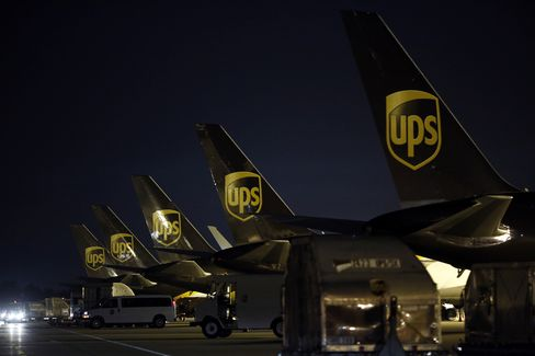UPS Freighter Jets