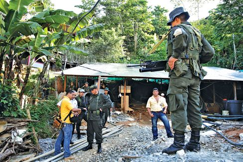 Colombia's Rebels Catch the Gold Bug