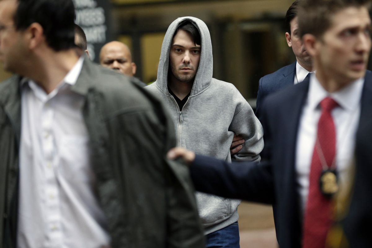 Martin Shkreli's Journey From Pharma Exec to Inmate #87850-053 thumbnail