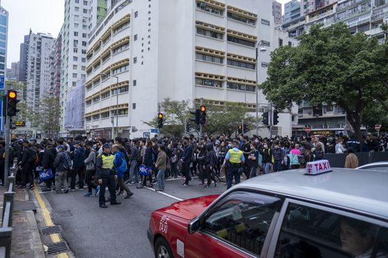 Protesters Block Roads After Police Halt Rally: Hong Kong Update