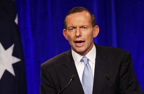 Australia's Prime Minister-Elect Tony Abbott