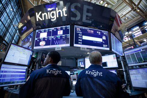 Knight Backs Getco Bid, Ending Saga Started With Trade Error
