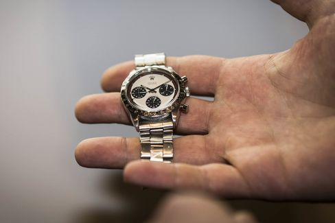 This is called winning the lottery in the watch world. This Rolex Paul Newman Daytona recently sold for more than$118,000 at a Christie's watch auction this past June.