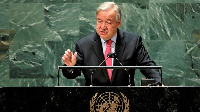 UN Chief Says World Facing 'Dead End' Over Climate, Covid