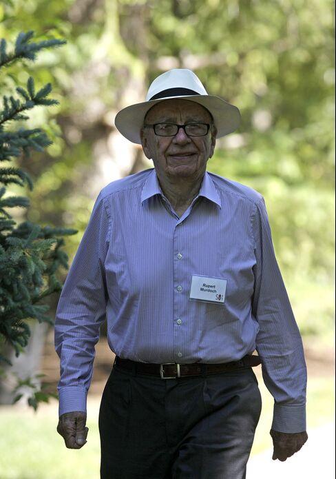News Corp. CEO Rupert Murdoch