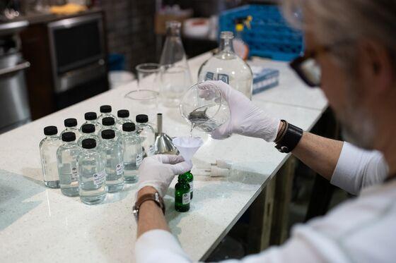U.S. Distilleries Making Pandemic Hand Sanitizer Get Fee Relief