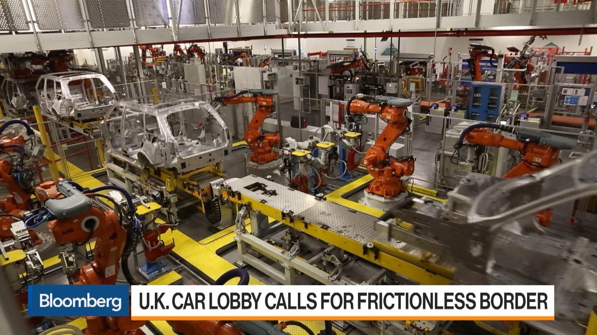 U.K. Carmakers Call for 'World-Beating' Brexit Deal