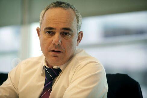 Israel's Finance Ministry Yuval Steinitz