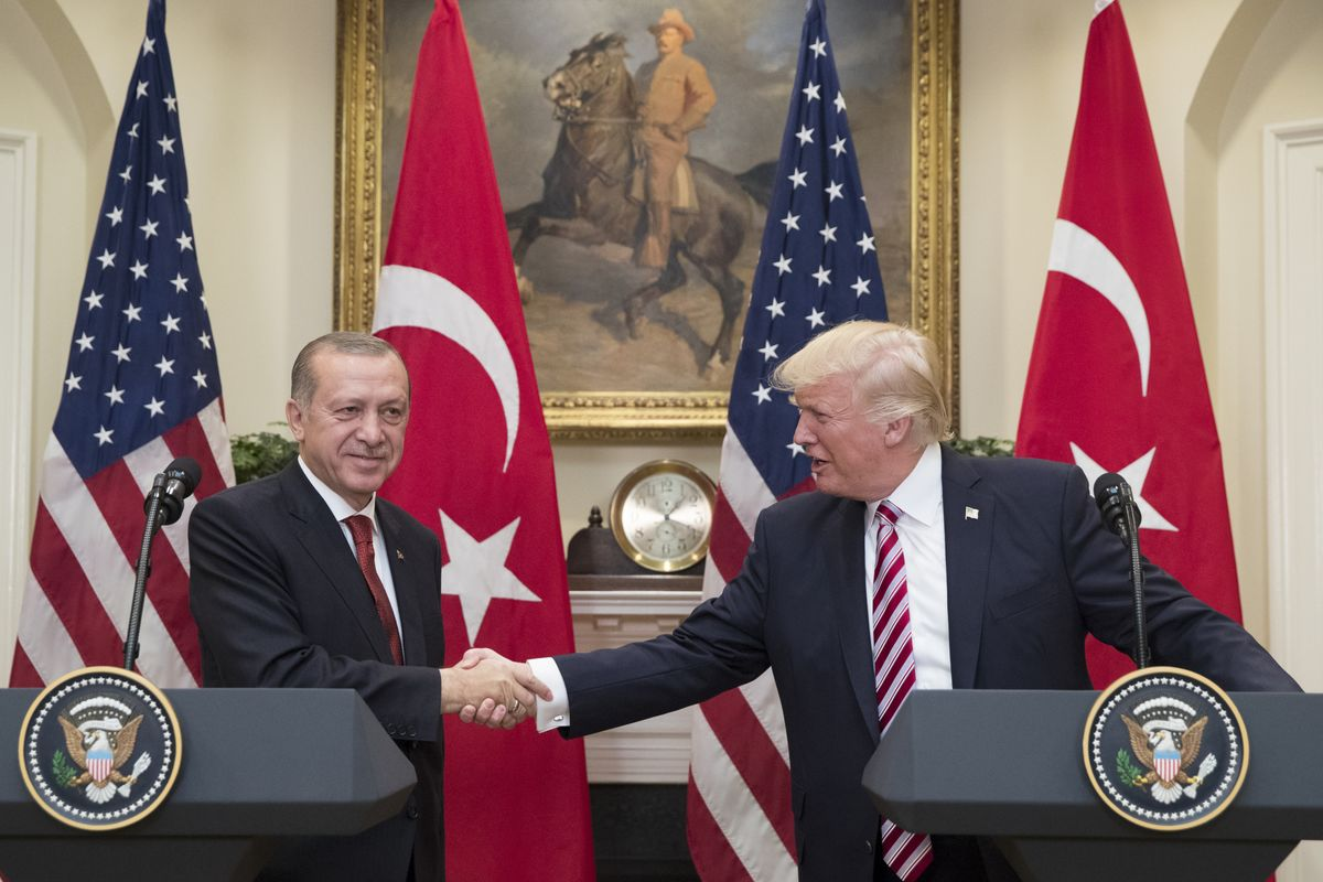 Trump Hosts Erdogan for First Meeting Since Clash Over Syria